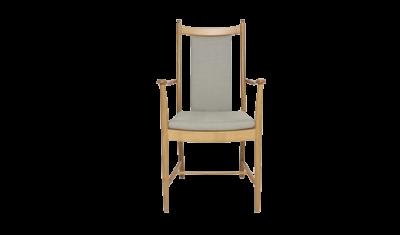 Penn Padded Back Dining Armchair