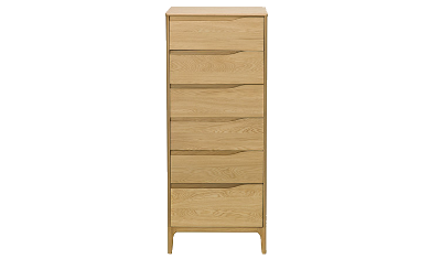 6 Drawer Tall Chest